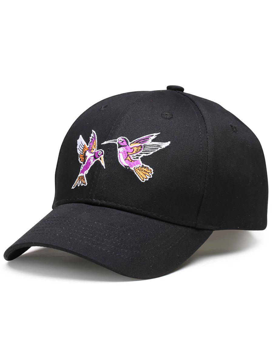 Latest Vintage Birds Embroidery Decoration Baseball Hat