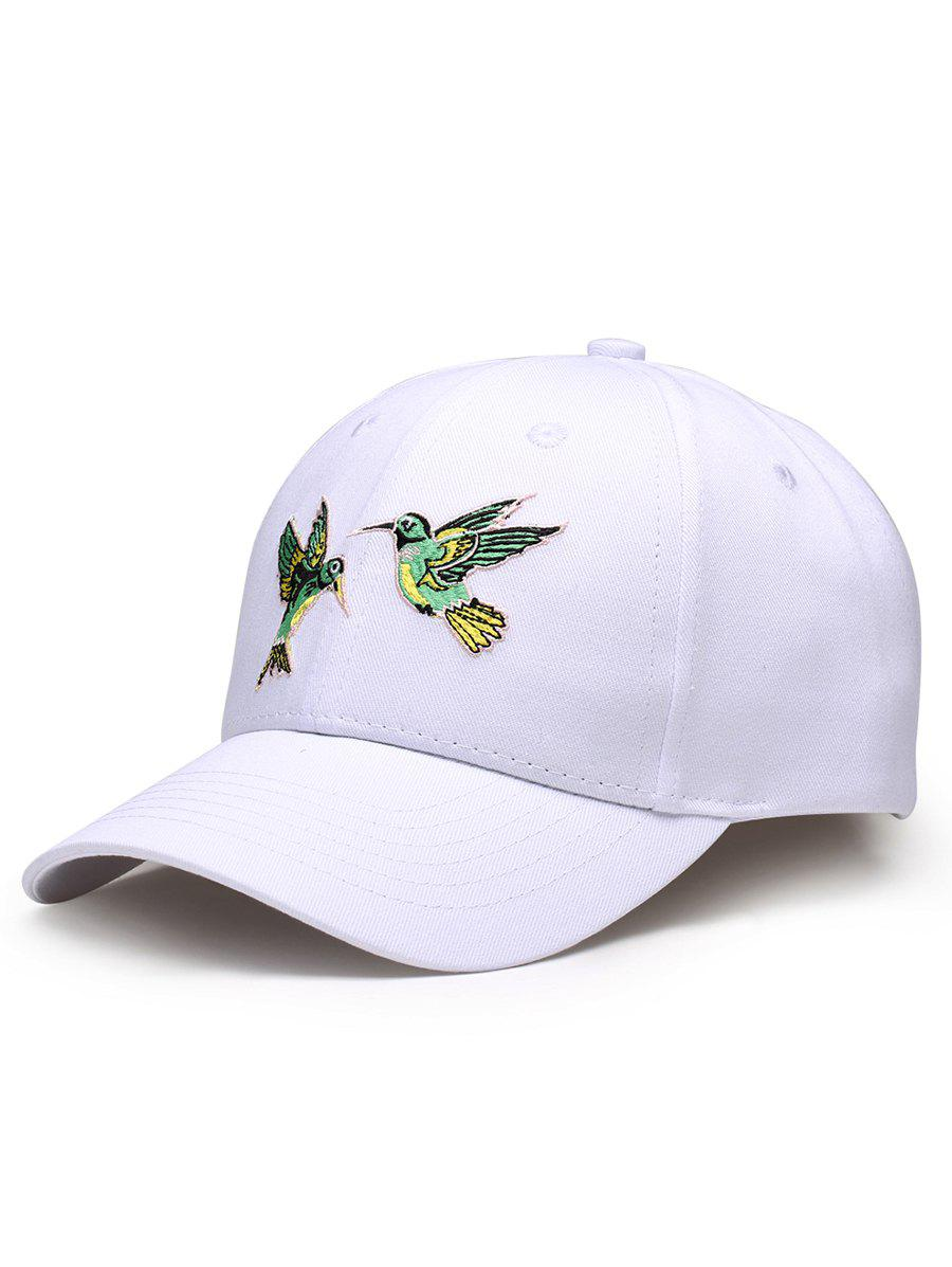 New Vintage Birds Embroidery Decoration Baseball Hat