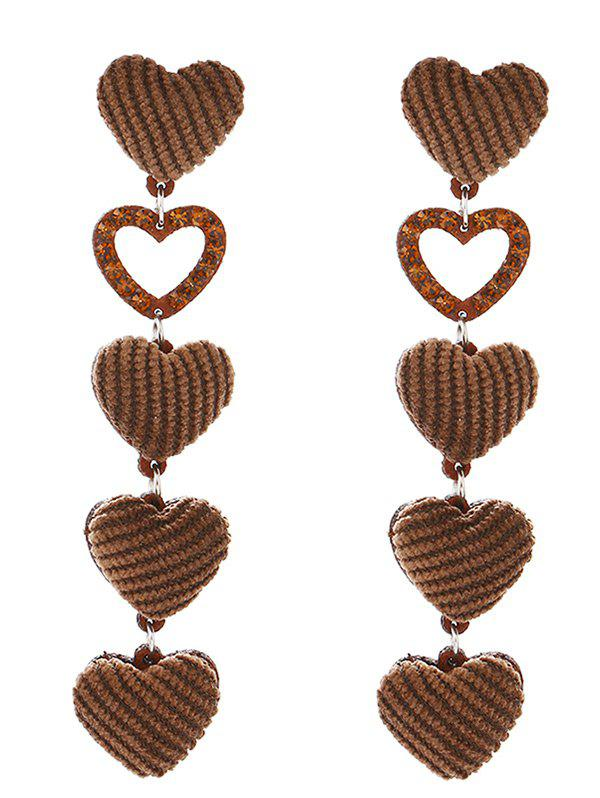 Hot Adorable Heart Drop Earrings