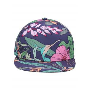 Outdoor Lotus Pattern Embellished Adjustable Baseball Hat -