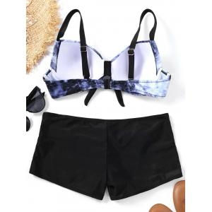 Push Up Tie Dye Bikini Set -