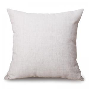 Flowers Pattern Decorative Cotton Linen Throw Pillow Case -