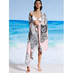 Ethnic Rectangle Tribal Print Beach Throw -