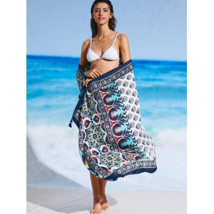 Tribal Print Ethnic Beach Cover Throw -