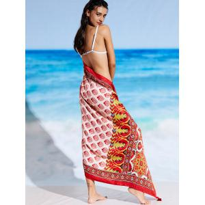 Sunbath Ethnic Tribal Print Beach Throw -