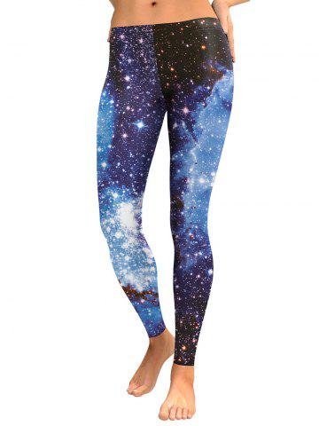 Fashion Galaxy Starry Sky Leggings