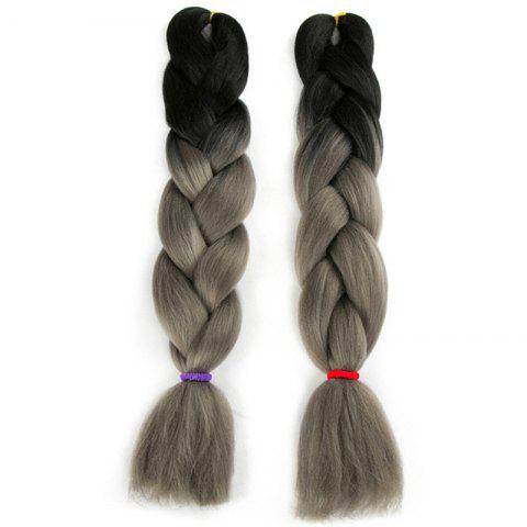 Shop Long Two Tone X-pression Braid Synthetic Wig