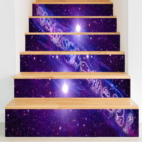 Hot Twelve Constellations Pattern Decorative Stair Decals