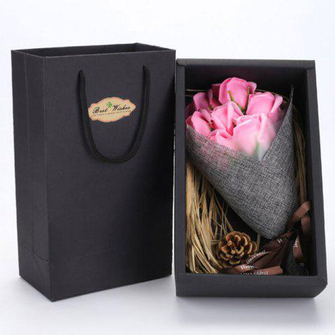 Store Handmade Soap Artificial Roses Valentine's Day Gift