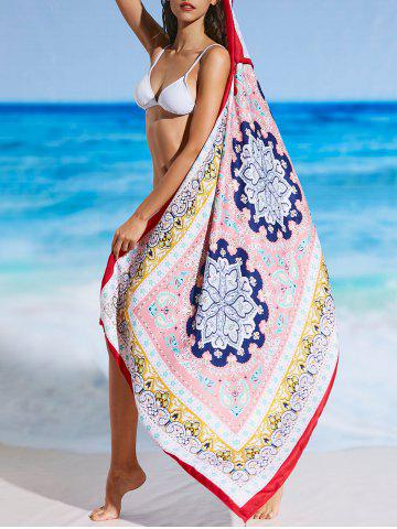 Outfit Tribal Print Ethnic Tassel Beach Throw
