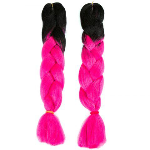 Outfits Long Two Tone X-pression Braid Synthetic Wig