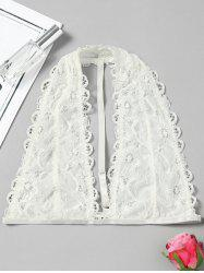 Scalloped Trim Lace Bralette Top -