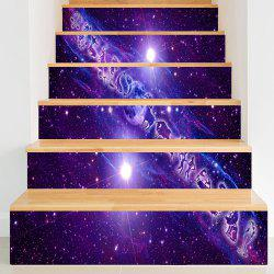 Twelve Constellations Pattern Decorative Stair Decals -