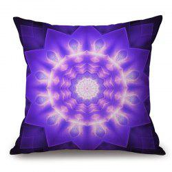 Mandala Print Decorative Cotton Linen Pillow Case -