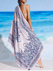 Rectangle Tribal Pattern Beach Throw -