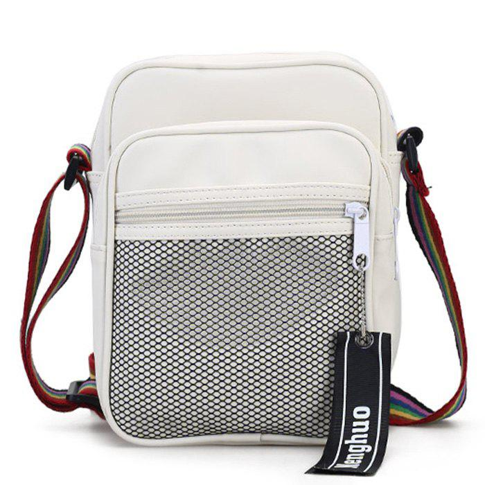 Outfits Letter Multi Function Crossbody Bag With Mesh