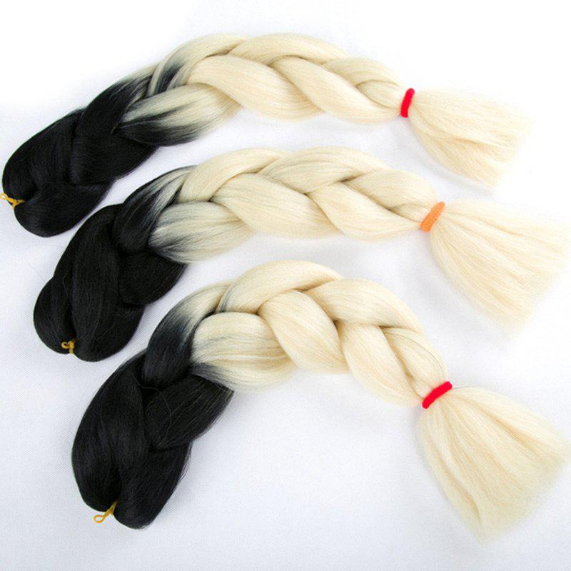 Affordable Long Two Tone X-pression Braid Synthetic Wig