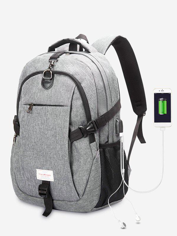 Affordable USB Charging Port Backpack With Headphone Jack