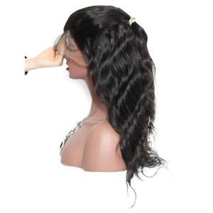 Lace Front Long Free Part Body Wave Synthetic Wig -