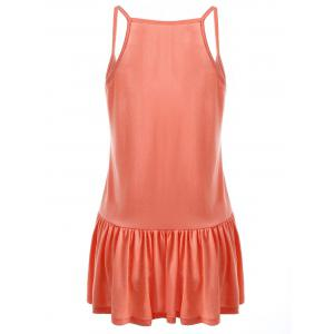 Casual Plus Size Frilly Tank Top -