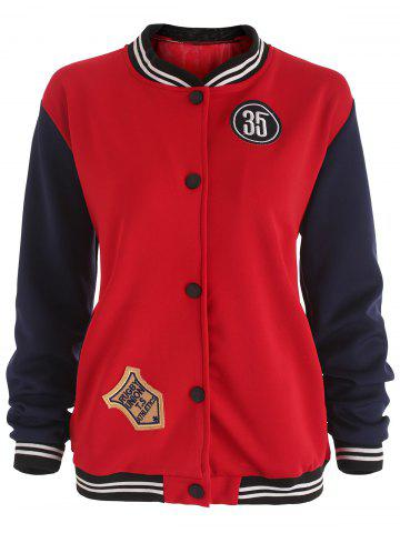 Best Patches Baseball Jacket