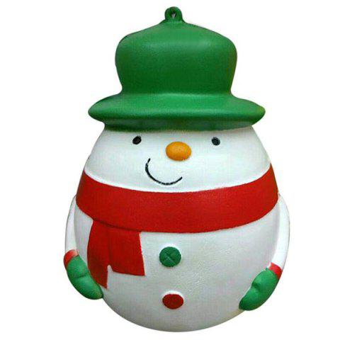 Chic Plump Snowman Squeeze Slow Recovery Stress Reliever Toy