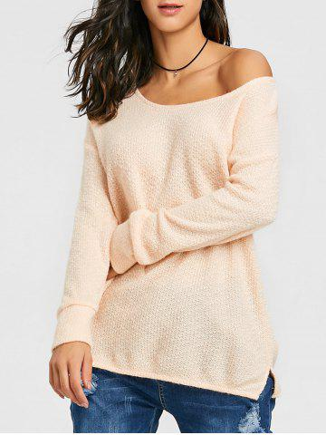 Best Skew Neck Tunic Sweater