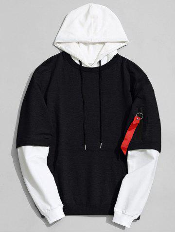 -47% Two Tone Cotton Hoodie