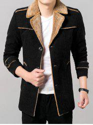 Epaulet Design Flocage Manteau -