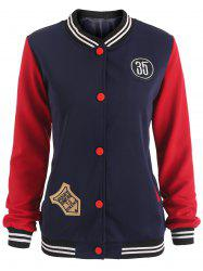 Patches Baseball Jacket -