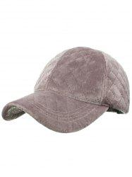 Vintage Rhombus Pattern Embroidery Adjustable Baseball Hat -