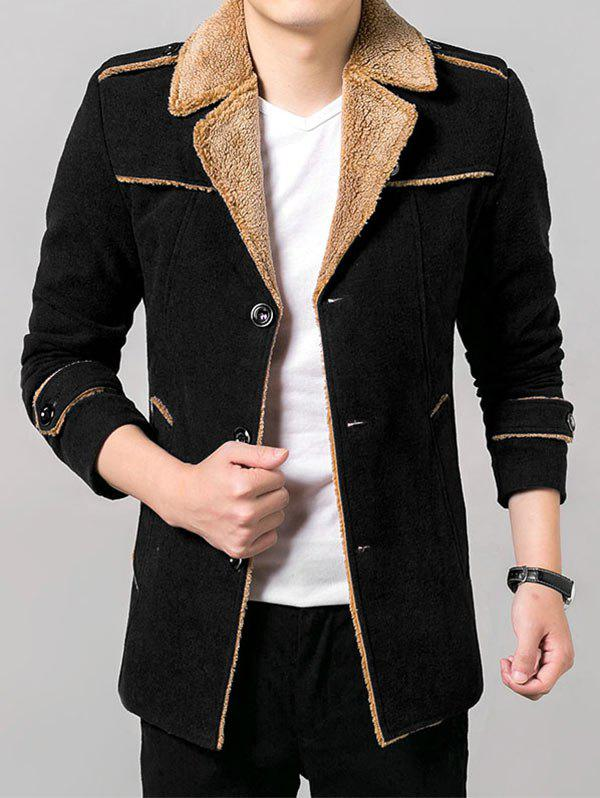Epaulet Design Flocage Manteau