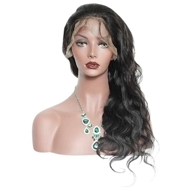 Sale Lace Front Long Free Part Body Wave Synthetic Wig