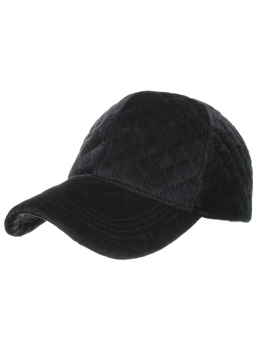 Outfits Vintage Rhombus Pattern Embroidery Adjustable Baseball Hat