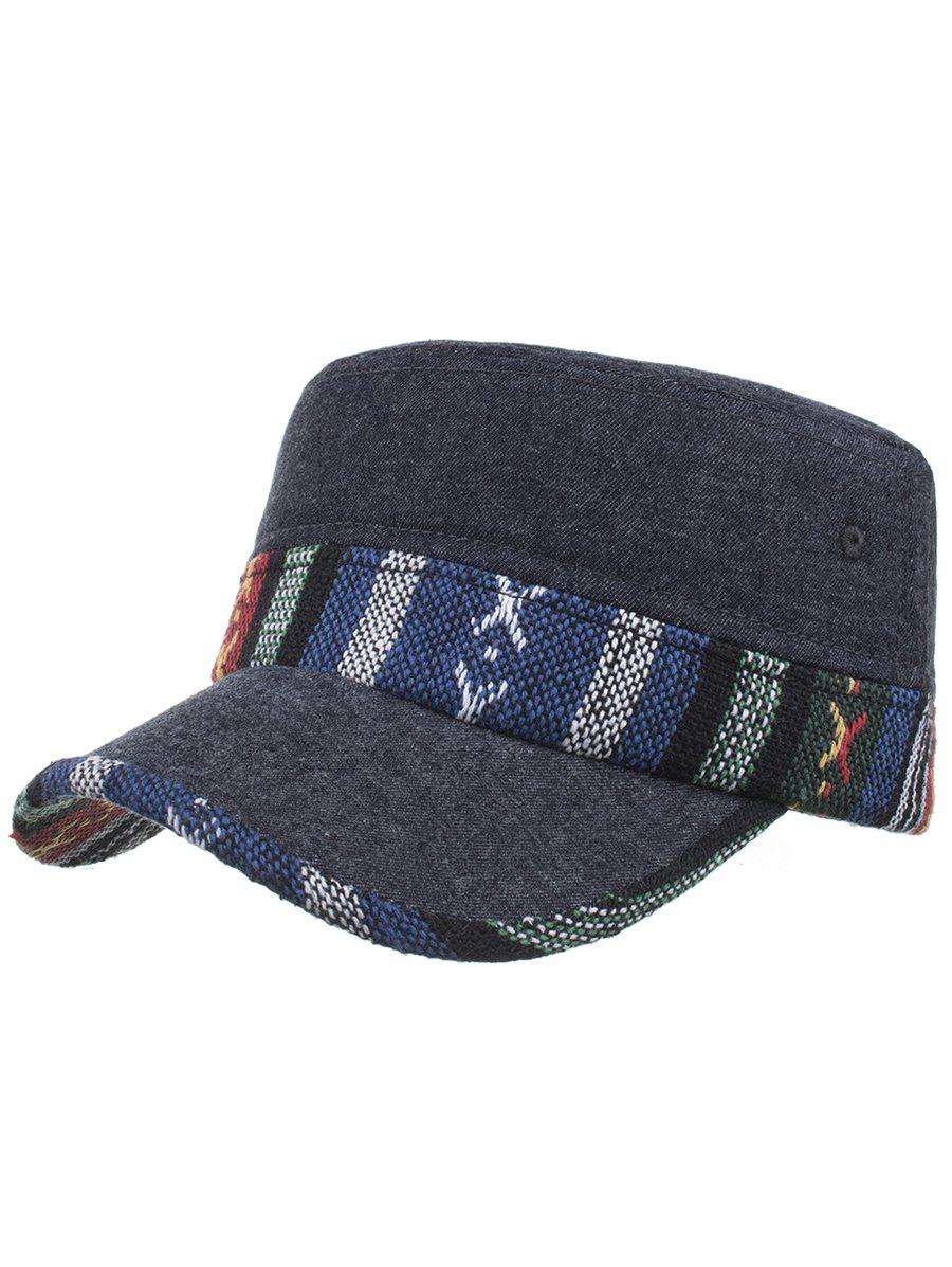 Affordable Vintage Ethnic Style Pattern Flat Top Hat