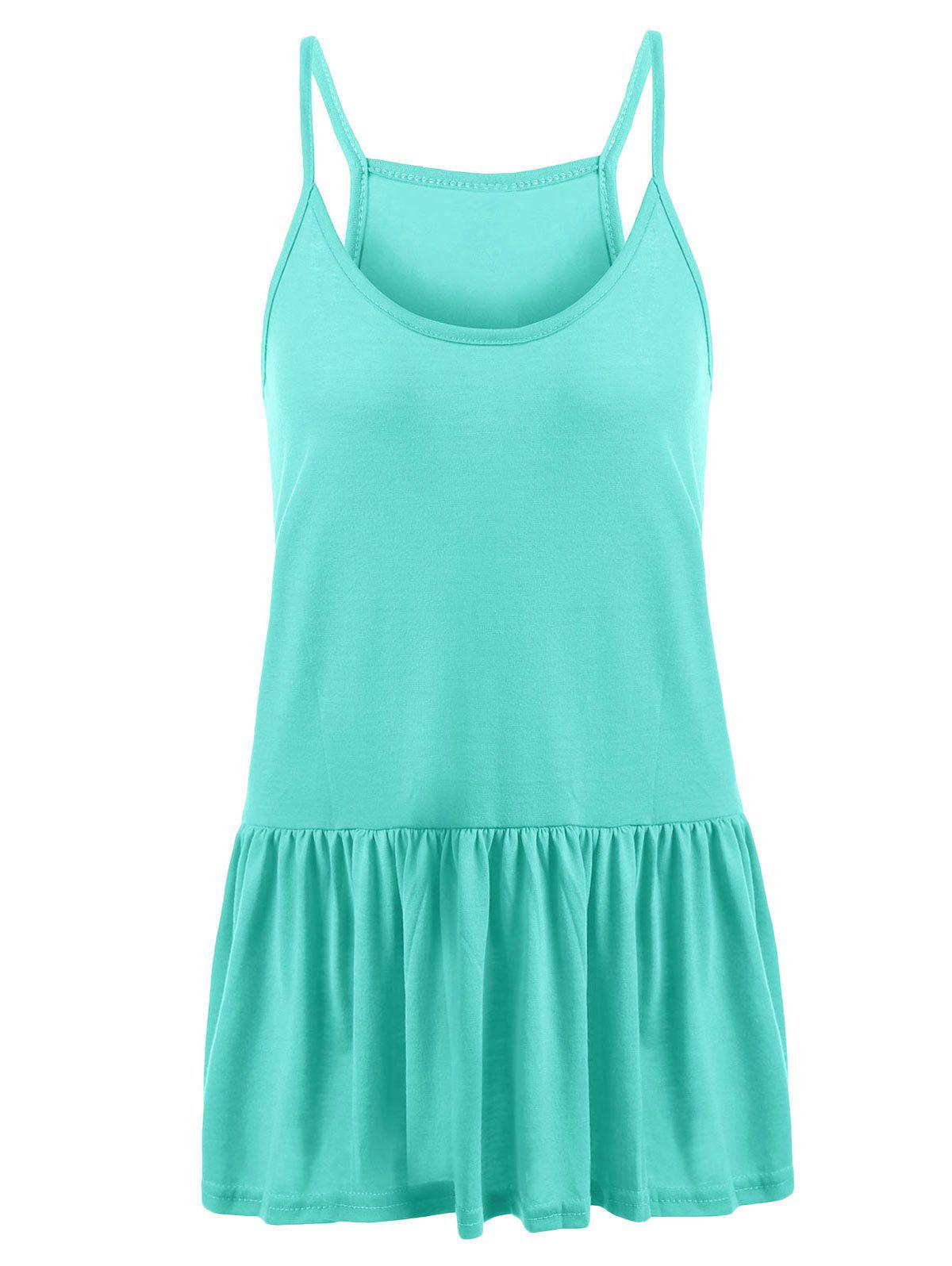 Fancy Casual Plus Size Frilly Tank Top