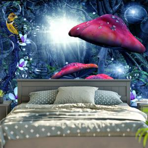Wall Hanging Magic Forest Pattern Tapestry -
