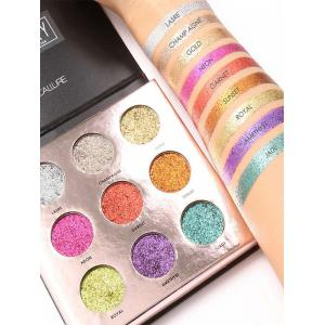 Professional Natural Colors Long Lasting Shimmer Eyeshadow Palette -