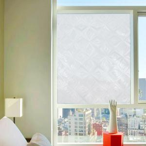 Rhombus Jacquard Window Film Sticker One Roll -