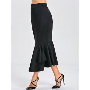 Mermaid Bodycon Midi Skirt -