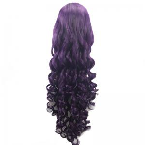 Ultra Long Side Parting Loose Wave Heat Resistant Synthetic Wig -