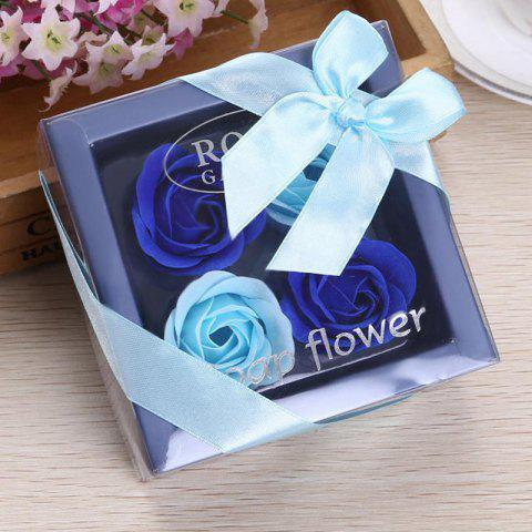 Trendy Valentine's Day Gift Soap Rose Flower In A Box