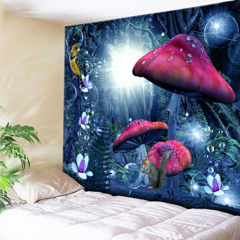 Cheap Wall Hanging Magic Forest Pattern Tapestry