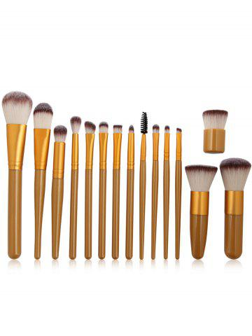 Fancy Professional 15Pcs Ultra Soft Fiber Hair Makeup Brush Set