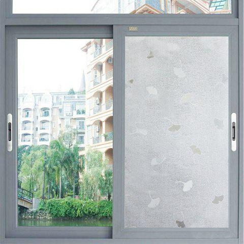 Buy Ginkgo Leaf Pattern Window Film Sticker One Roll
