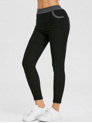 High Waisted Ninth Pencil Pants -