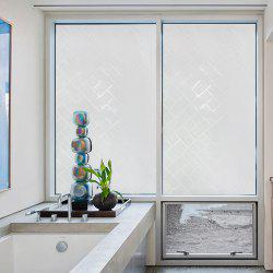 Кирпичный блок Pattern Window Film Sticker One Roll -