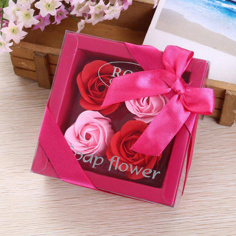 Outfits Valentine's Day Gift Soap Rose Flower In A Box