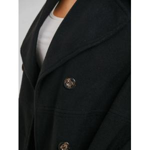 Double Breasted Wool Coat -