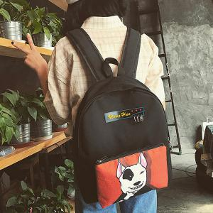 Detachable Cartoon Print 2 Pieces Backpack Set -